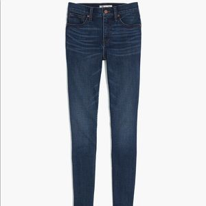 """Madewell 10"""" High-Rise Skinny Jeans - Size 27"""